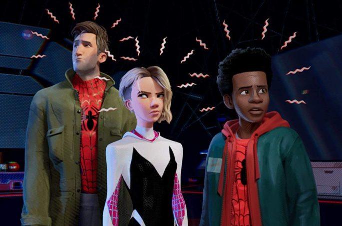 Jake-Johnson-Hailee-Steinfeld-and-Shameik-Moore-in-Spider-Man-Into-the-Spider-Verse-2018-1200x792