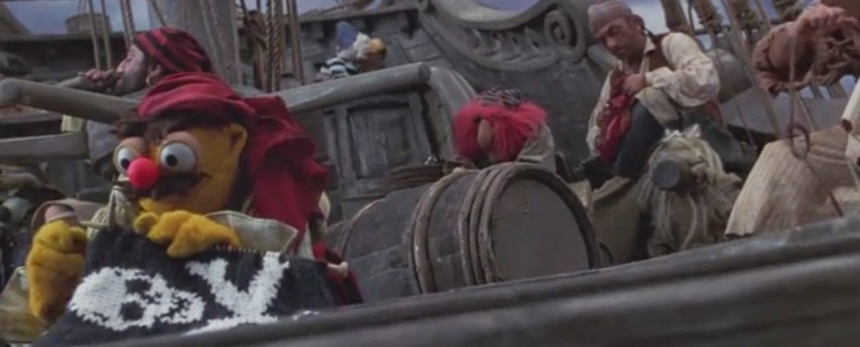Muppet Treasure Island Knitting